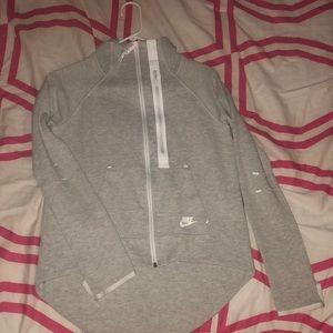 Nike tech jacket gray